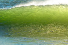 Emerald Wave (hpaich) Tags: ocean desktop sea wallpaper green beach water yellow coast newjersey surf waterfront background sandy nj wave coastal shore jersey curl hook atlantichighlands sandyhook breaker desktopwallpaper desktopbackground