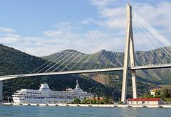 Croatia-01916 - Big Boat and Big Bridge.....