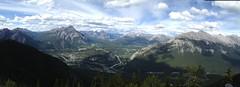 On top Sulphur Mountain Panorama (_rickard) Tags: canada banff sulphurmountain sulphurmountaincosmicraystation