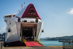 Bostezo marino (SantiMB.Photos) Tags: ferry port geotagged puerto elba italia barco ship ita toscana tamron 18200 portoferraio 2tumblr vacaciones2012 geo:lat=4281250556 geo:lon=1032308221