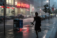 Heavy shower (_Franck Michel_) Tags: rain shower pluie run skater futures averse courrir