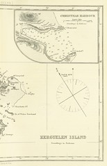 Image taken from page 605 of 'Indian Ocean Directory. The Seaman's Guide to the Navigation of the Indian Ocean, including ... sailing directions for the principal ports on the South and East Coasts of Africa, ... together with a full account of all the Is (The British Library) Tags: map indianocean large split publicdomain kerguelenislands vol0 righthalf christmasharbor navigationalmap bldigital mechanicalcurator pubplacelondon date1866 page605 sysnum003165228 rosserwilliamhenryandimrayjamesfrederick imagesfrombook003165228 imagesfromvolume0031652280 otherhalf:pair=1107301989511072206104 nogeoref wp:bookspage=synopticindexthematic georefphase2