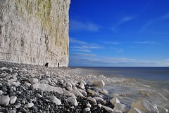The art of Photography (Rob McC) Tags: ocean sea seascape beach landscape sussex chalk cliffs ringexcellence dblringexcellence