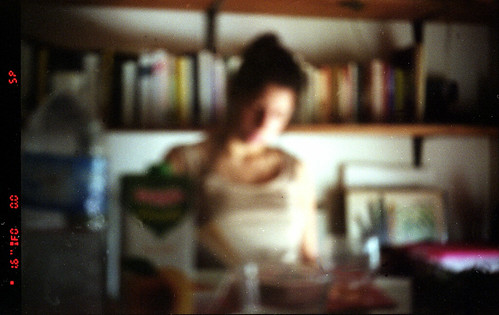 Pinhole make people disappears...