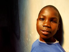 Kenyan Boy #Flickr12Days (kinsongan) Tags: africa boy child blind kenya african orphan orphanage half kenyan flickr12days