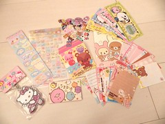 Swap Ready: Jan Pick 3 Kawaii Swap Int'l (happyakuen) Tags: japan japanese tokyo mail stickers memo swap kawaii crux stationary felissimo qlia rilakkuma sanx kamio swapbot