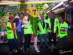 Pandemonia-Banco-du-Juca-in-Mercardo-Municipal (pandemonia99) Tags: brasil shoes doll mask saopaulo melissa rubber plastic popart inflatable mercadomunicipal spfw rubberdress rubberdoll livingdoll latexdress postpop inflatablehair pandemionia