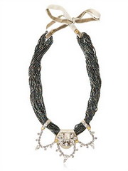 LUISAVIAROMA VANINA  NUIT YELLOW NECKLACE (luisaviaroma.fashion) Tags: women necklaces vanina fashionjewellery luisaviaroma springsummer2013