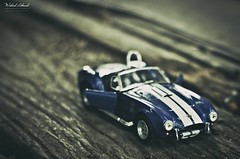 (WaleedAhmed) Tags: old light ford car race vintage 50mm miniature focus dof sony racing dslr vector 50mm17 toyphotography cobraford