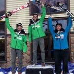 Martin Grasic wins FIS Keurig Cup Slalom at Mt. Norquay, Dominic Unterberger 2nd, Tony Naciuk 3rd