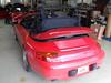 03 Porsche 911-996 Original-Line Renolit Flexglas Verdeck Montage rs 03