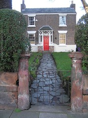 country cottage and garden in a city location (Towner Images) Tags: city england copyright building rose architecture port liverpool design community cityscape cottage culture environment seaport countrycottage merseyside wavertree towner l15 townerimages