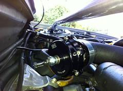 Tial 50mm BOV (Christopher Ngo) Tags: 2000 power 1999 turbo subaru 1998 impreza wrx sti lowered enkei varex ej20t tial gc8 ej20 powertune vf22 {vision}:{sky}=0533 {vision}:{outdoor}=0554