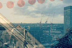 London (alicehopedenny) Tags: china city england sky london tower westminster buildings town construction exposure experimental view place cathedral image crane places images double multiple scape within