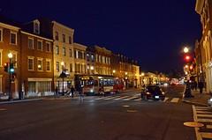 "Washington by night: Georgetown, M Street (presbi) Tags: usa washington georgetown "" worldwidelandscapes"" mygearandme onlythebestofflickr infinitexposure ""panoramafotografico"" ""flickr'sportal"" ""theoriginalgoldseal"" ""topshots"""