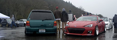 Stance Wars 2014@ Golden Gardens (SlideShotsbyRon) Tags: show seattle beautiful car volkswagen washington nissan suspension awesome rainy kia rims mitsubishi stance toyotas tuners bagged audis
