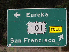Time to head away from San Francisco; let's take the 101 south (Hazboy) Tags: sf california road usa west sign america golden coast us highway san francisco state 101 western hazboy hazboy1