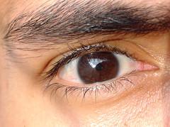 My eye (luisjromero) Tags: black eye eyelashes mexican latin finepix fujifilm av250