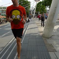Look (channyuk (using Albums)) Tags: london streetphotography tshirt running southbank panasonic straightfromcamera lx5 sooc straightoutofcamera londonstreetphotography