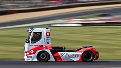 Chris  Levett - Renault Premium MKR - Winner of race 16 (Gary8444) Tags: truck canon championship indy racing april british hatch brands motorsport 2014 btra