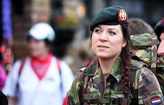 In the army (Frank Fullard) Tags: street ireland portrait holland color colour dutch soldier army candid walker backpack mayo beret camoflage braid castlebar postma fullard dvvo frankfullard