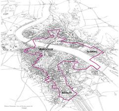 périmètre de l'OIN Bordeaux-Euratlantique
