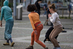 Dance in the Street (Claude Schildknecht) Tags: dancing zurich danse performer langstrasse danseur tanzt