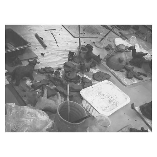 10.07.15 • œuvres des artistes | poterie animalière et moderne | vivre et créer
