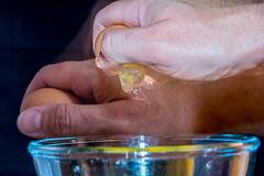 A Gentle Tap (Richjack2003) Tags: nikon egg crack 1855mm tap gentle rearflash gwlad d7100 nikond7100