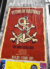 rythms of resistance (seven_resist) Tags: g20 g20hamburg anticapitalista plakat poster posters art artwork leftside anticapitalist hamburg berlin antifa plakate disorder rebel store kreuzberg koepikopi kopi kopi137 punk punks