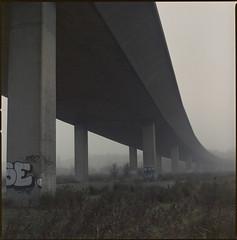the high road (steve-jack) Tags: hasselblad 501cm 80mm cb fuji superia 100 film 120 6x6 medium format epson v500