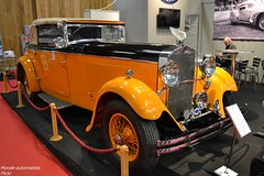 Delage D8S (Monde-Auto Passion Photos) Tags: auto automobile voiture vehicule delage d8s cabriolet spider france paris retromobile evenement ancienne orange
