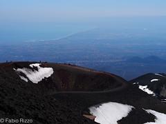 Etna cratere (fabiorizzo72) Tags: enta vulcano cratere crateri catania sicilia sicily natura montagna paesaggio landscape