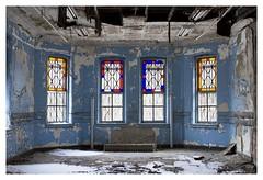 Crystal Blue Persuasion (Boris_Baden0v) Tags: abandoned porch snow statehospital explore