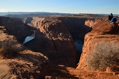 Horseshoe 35 (Krasivaya Liza) Tags: horseshoebend horseshoe bend canyon canyons arizona dec 2016 nature natural beauty attraction formation rock rocks stone hills river bends landscape southwest southwestern arid desert