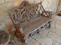 driftwood bench... (Baja Juan) Tags: bench happy texas driftwood bandera baja monday hbm benching