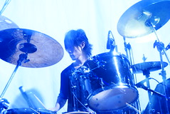101A / drums: sally (eiku suyama) Tags: noah uk blue england rock bristol drums japanese tokyo post bass guitar britain live shibuya ephemera sally british  akihabara syrup kubo  noise alternative schecter shoegaze   lethe 101a suyama   eiku        tokyoshoegazer