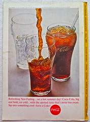 1963 - 1960s Vintage Coca Cola Advertisement From National Geographic Back Page 31 (Christian Montone) Tags: vintage ads advertising coke americana soda cocacola advertisements sodapop vintageads vintageadvert