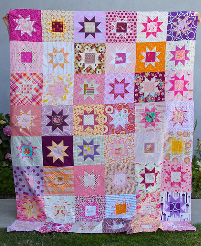 Girly Star Quilt