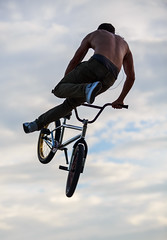 Flight (mikepino) Tags: bike bicycle sport bmx flight halfpipe trick stunt extremesport actionsport