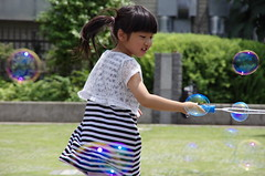 Happy holiday -At the park (Cozy66) Tags: girl japan child pentax  k5