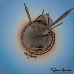 Faisal Mosque Planet (Najmul Hassan) Tags: adventure k2 hassan explorers hunza gilgit experts the karakorum danyore skardu askole najmul fairymeadows satpara photograpphy