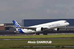 Aroport Toulouse Blagnac LFBO (F-ALEX) Tags: plane flight first airbus toulouse industrie blagnac avion aroport a350 lfbo fwxwb 14062013