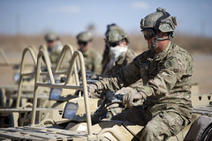 United States Army Special Forces (World Armies) Tags: training us desert tx soldiers atv airborne usarmy specialforces usasoc greenberets fortbliss fortblisstexas ltatv 7thspecialforcesgroupairborne allterrainvechicles lighttacticalallterrainvehicles familiarizationtraining