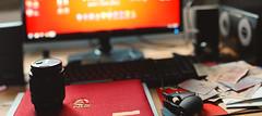 Me Desk (KamrenB Photography) Tags: desktop panorama money computer lens asian mouse photography rat mine stitch desk screen cyborg f18 18 speakers currency kamgtr kamrenb