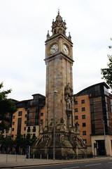 Albert Clock (9581b) (avalard) Tags: clock neglect docks cityscape victorian belfast northernireland dereliction countyantrim oddmanout sailortown albertclocktower builtheritage