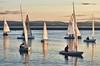 West Kirby lake evening sail (jimmedia) Tags: