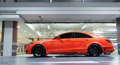 gsc cls 63 amg (mewzhang) Tags: orange mall mercedes benz dubai uae 63 emirates stealth gsc abu dhabi amg doha qatar supercars cls