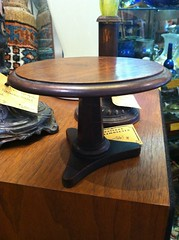"MIniature regency tilt table, c. 1830. • <a style=""font-size:0.8em;"" href=""http://www.flickr.com/photos/51721355@N02/9587349186/"" target=""_blank"">View on Flickr</a>"