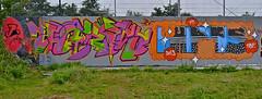 Den Haag Graffiti : HBF 25 (Akbar Sim) Tags: holland netherlands graffiti nederland denhaag 25 jam hbf thehague agga akbarsimonse hoflaak akbarsim